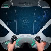 Pilot in space simulator 1.1