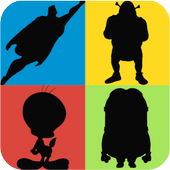 Guess the Shadow Quiz Game - Characters Trivia 2.6