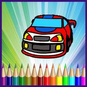 Super Cars Coloring Games 1.0