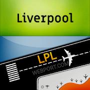 Liverpool Airport (LPL) Radar Flight Tracker 8.0