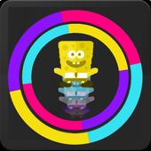 Colored Sponge Jump 2