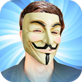Anonymous Mask Photo Stickers 1.0