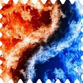 Fiery yin yang Live WP 1.0