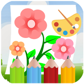 Flower Coloring games with friends 1.0