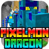 PIXELMON MINECRAFT DRAGON FLY 1.0