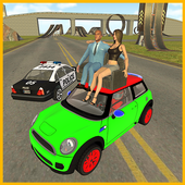 Mini Car&Pick Up Girls: Police Chase in City 1.6