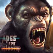 Apes Gorilla FPS Shooter: Survival Battleground 1.0