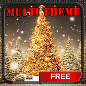 Gold Xmas Tree Holo Launcher 1.0.1