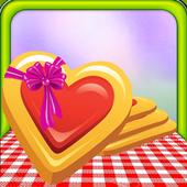 Jam Heart Cookies Bakery