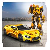 Futuristic Car Robot Battle: Future Robot Wars 1.1