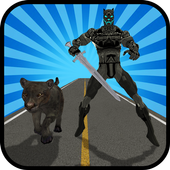 Multi Panther Hero VS Super Villains 1.2