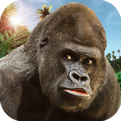 Angry Mad gorilla Wild Attack 1.2