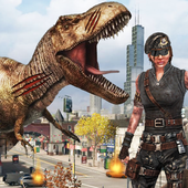 Dinosaur Hunting 2018: City Attack Survival Game 1.0