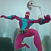 Ultimate Rope Hero Ninja City 2.0