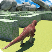 Real Dinosaur Maze Run Simulator 2018 3.9