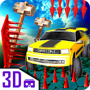 Impossible car escape 3d stunts Speed Racing mania 0.2