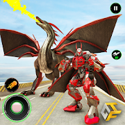 Super Dragon Warrior Robot Transform Battle 1.7