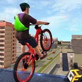 Rooftop BMX Bicycle Stunts 1.4