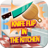 Knife Flip Challenge In The Kitchen 1.0.0