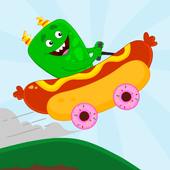Monster Car Hill Climb - Fun Racing Games For Kids 1.0