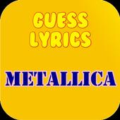 Guess Lyrics: Metallica 1.0