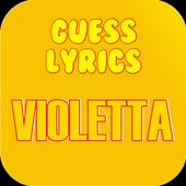 Guess Lyrics: Violetta 1.0