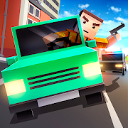 Cube Car Theft Race 3D