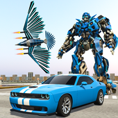 Muscle Car Robot Transformation Game - Eagle Hunt 1.0.2