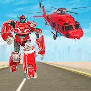 Helicopter Robot Transformation Game 2018 1.0.3