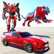 White Tiger Robot Transformation Game - Car Robot 1.0.2