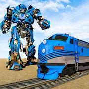 Futuristic Robot Transformation Train Game 1.0.3