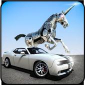 Robot Unicorn Muscle Car Robot Transforming Game 1.0.2