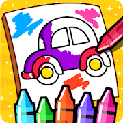 Cars Coloring Book for Kids - Doodle, Paint & Draw 2.2