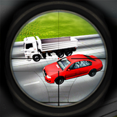 Real Traffic Hunter: Sniper 1.2