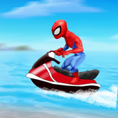 Jetski Spidermen  Race 1.0