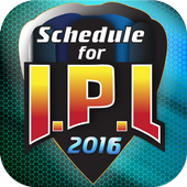 Schedule for IPL 2016 1.6