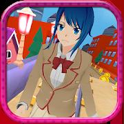 Anime Girl Subway Train Run 1.8