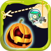 Cut Halloween roper Pumpkin 1.2