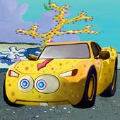 Sponge car: bob in Road Killer 1.0