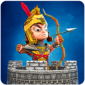 Tiny Romans Castle Defense - Archery Games 1.1.1