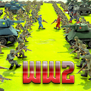 World War 2 Battle Simulator- WW2 Battle Games 1.4
