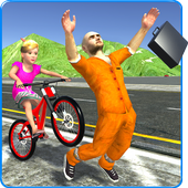 Kids Bicycle Rider Thief Chase 1.2