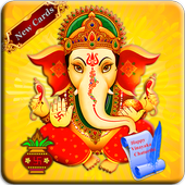 Happy Ganesh Chauth Greeting Cards 1.0