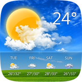 GO Weather - Widget, Theme, Wallpaper, Efficient 6.155