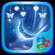 Blue Crystal Go Launcher Theme 40.99