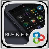 Black Elf GO Launcher Theme v1.0