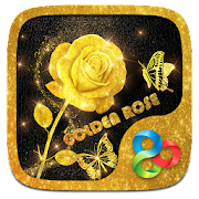 Golden Rose Parallax Go Launcher Theme 1.00