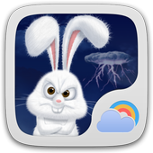 Mr Rabbit GO Weather Theme 1.0