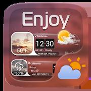 Enjoy GO Weather Widget Theme 1.0