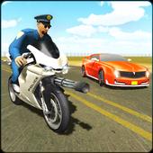 Police Bike Shooting - Gangster Chase Car Shooter 5.0